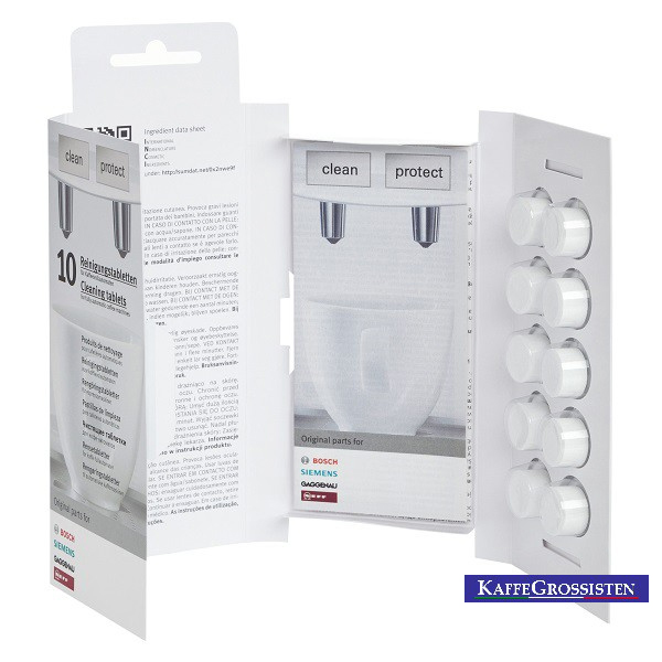 Siemens Bosch Cleaning Tablets for coffee machines