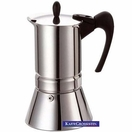 GAT Vip Inox 4 cups - stainless steel/induction